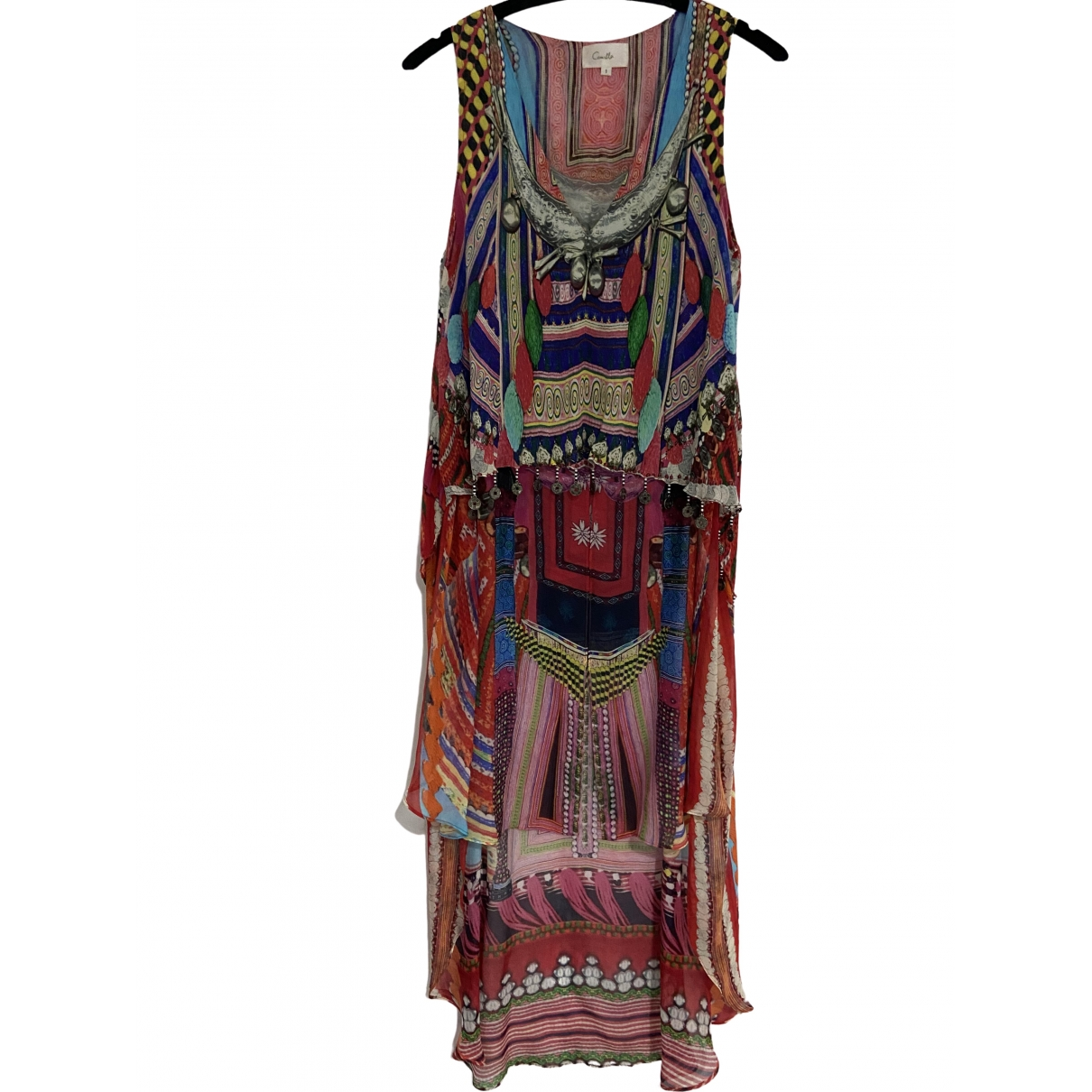 Camilla \N Multicolour Silk dress for Women 1 0-5