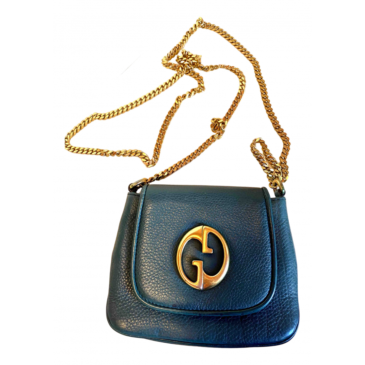 Gucci 1973 Black Leather handbag for Women \N
