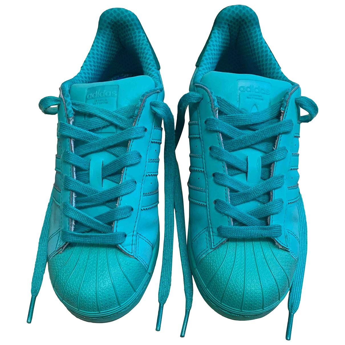 Deportivas Superstar de Charol Adidas