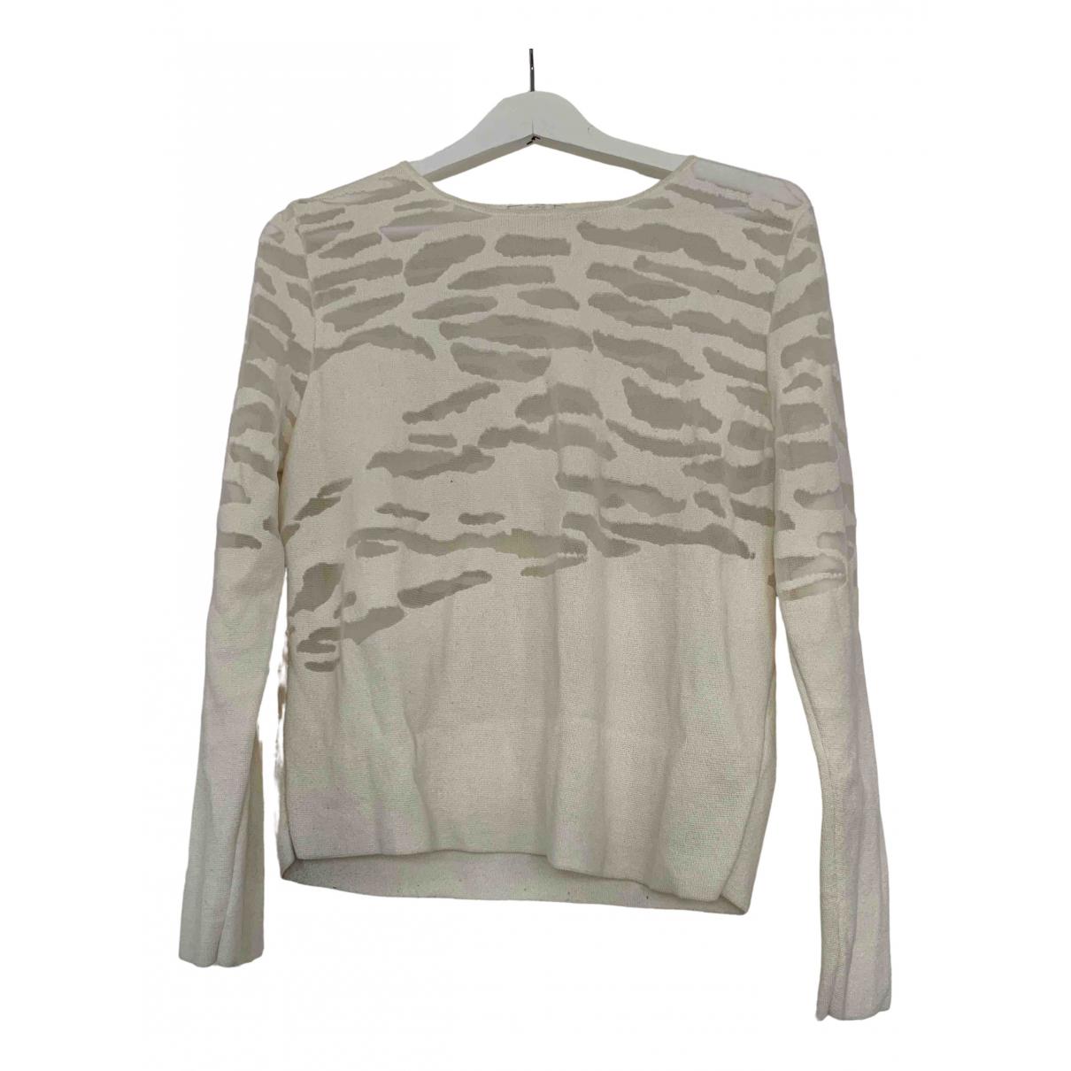 Cos \N Pullover in  Ecru Baumwolle