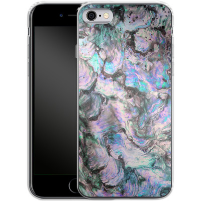 Apple iPhone 6s Silikon Handyhuelle - Mother of Pearl von Emanuela Carratoni