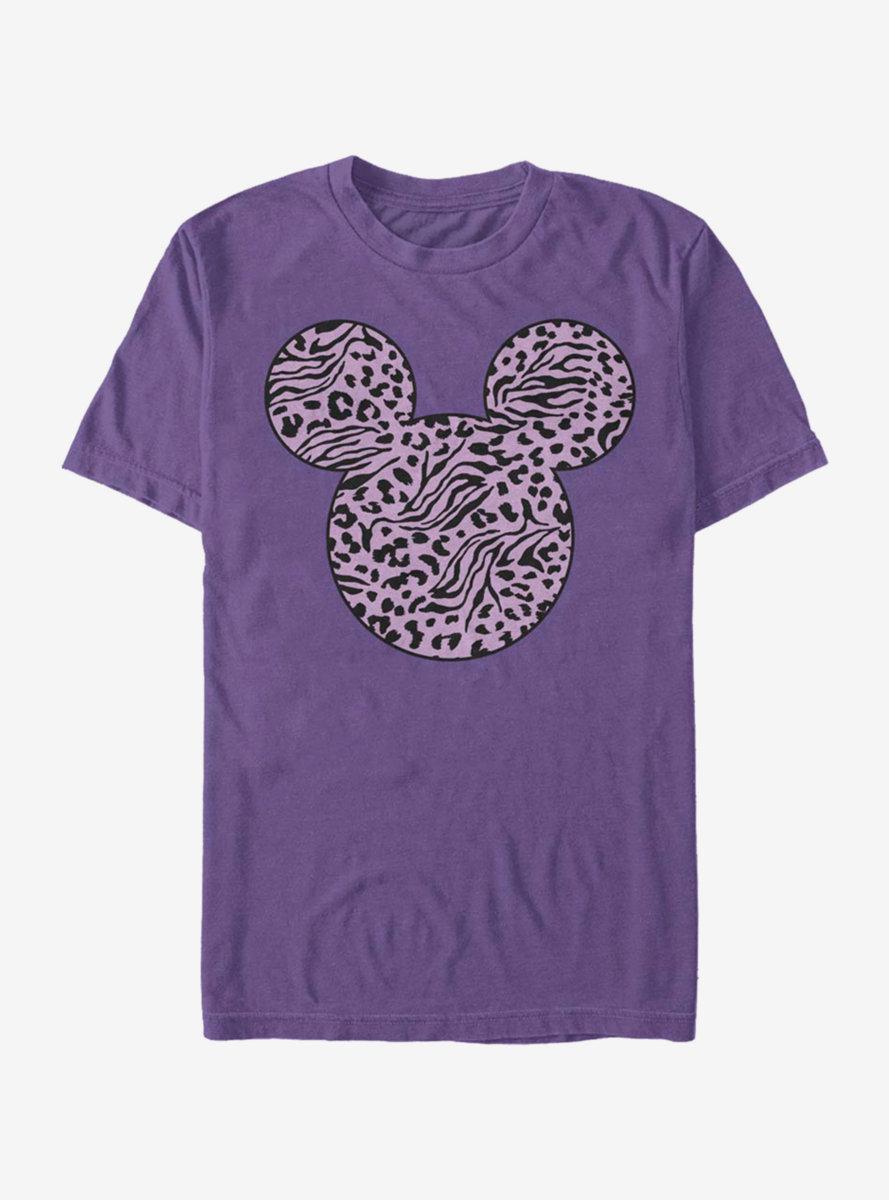 Disney Mickey Mouse Zebra Cheeta Fill T-Shirt