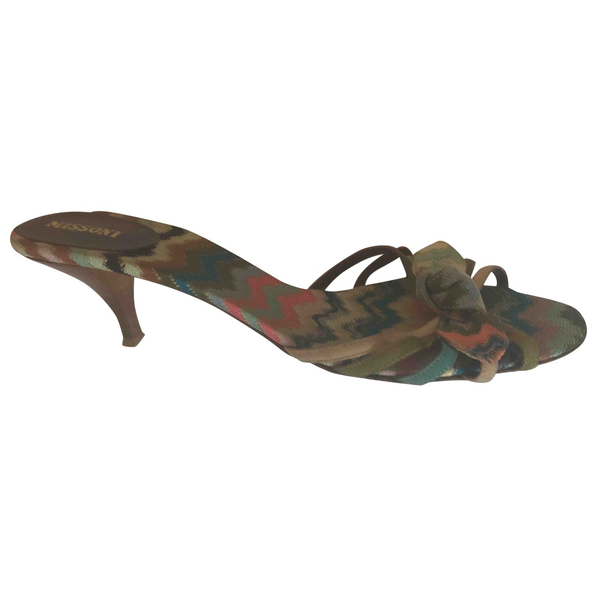 Missoni \N Multicolour Cloth Sandals for Women 41 EU