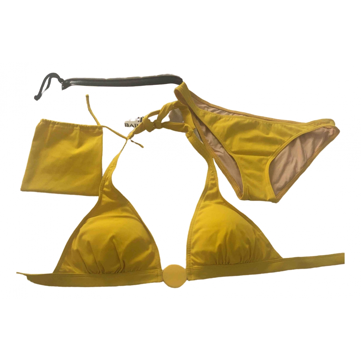 Hermès \N Yellow Swimwear for Women 40 FR