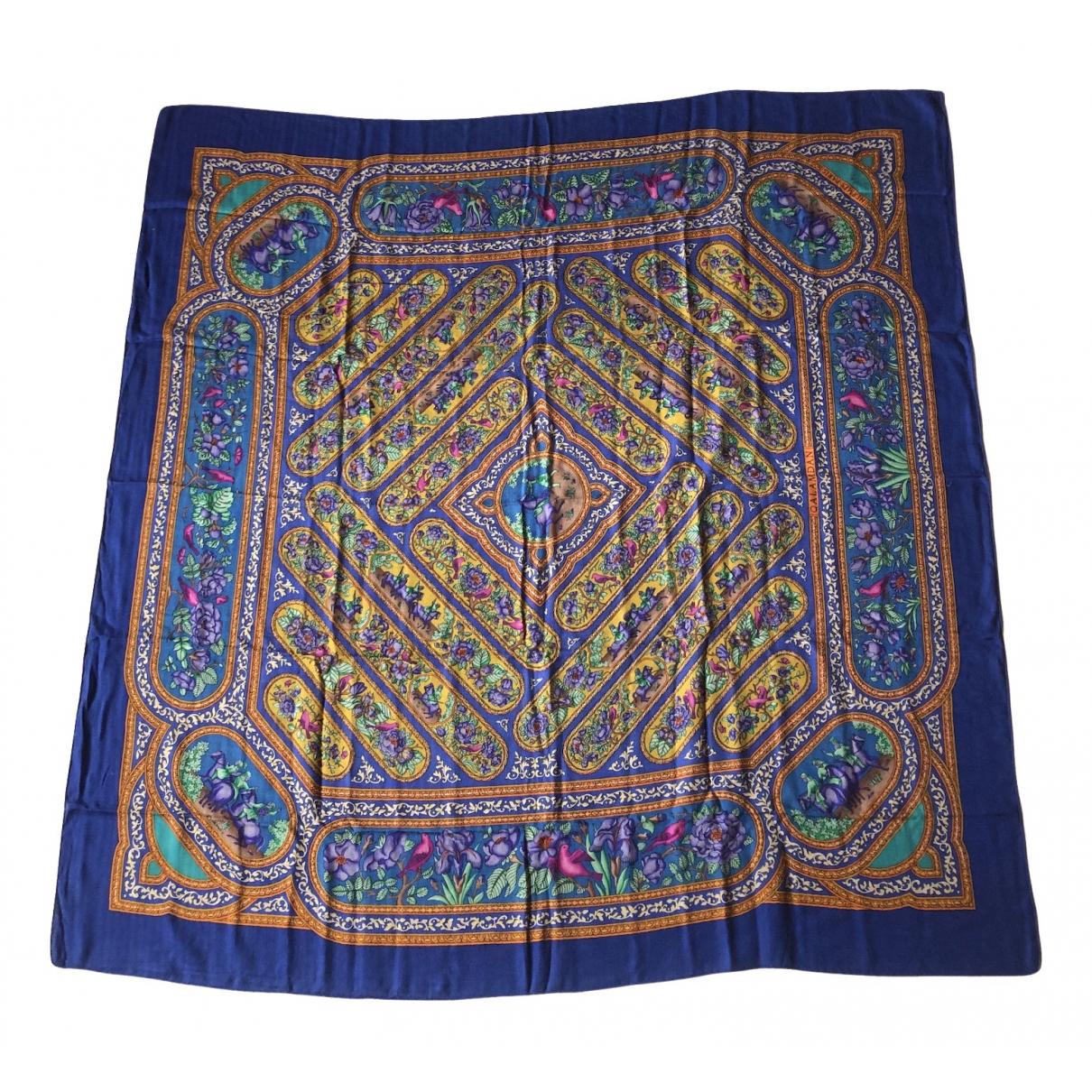 Hermès Châle 140 Multicolour Cashmere scarf for Women N
