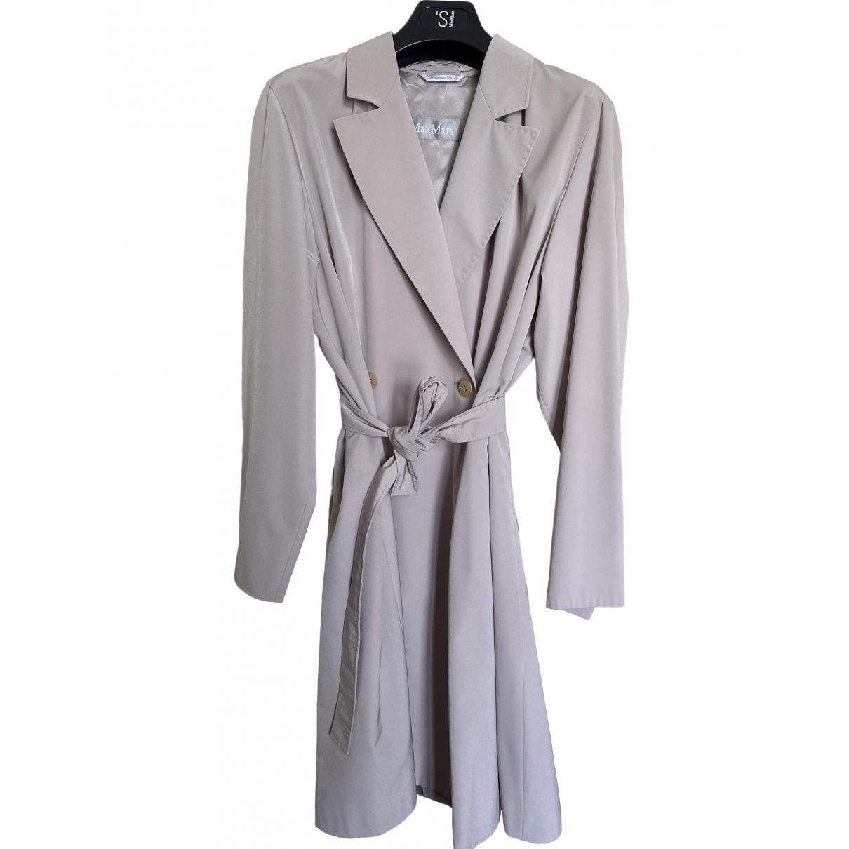 Max Mara \N Grey Trench coat for Women 36 FR