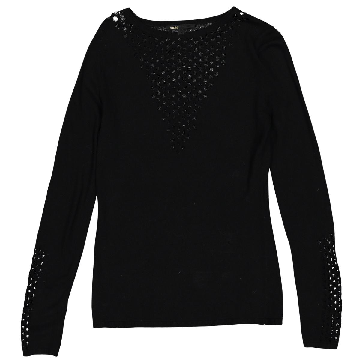 Maje \N Black Knitwear for Women 1 0-5