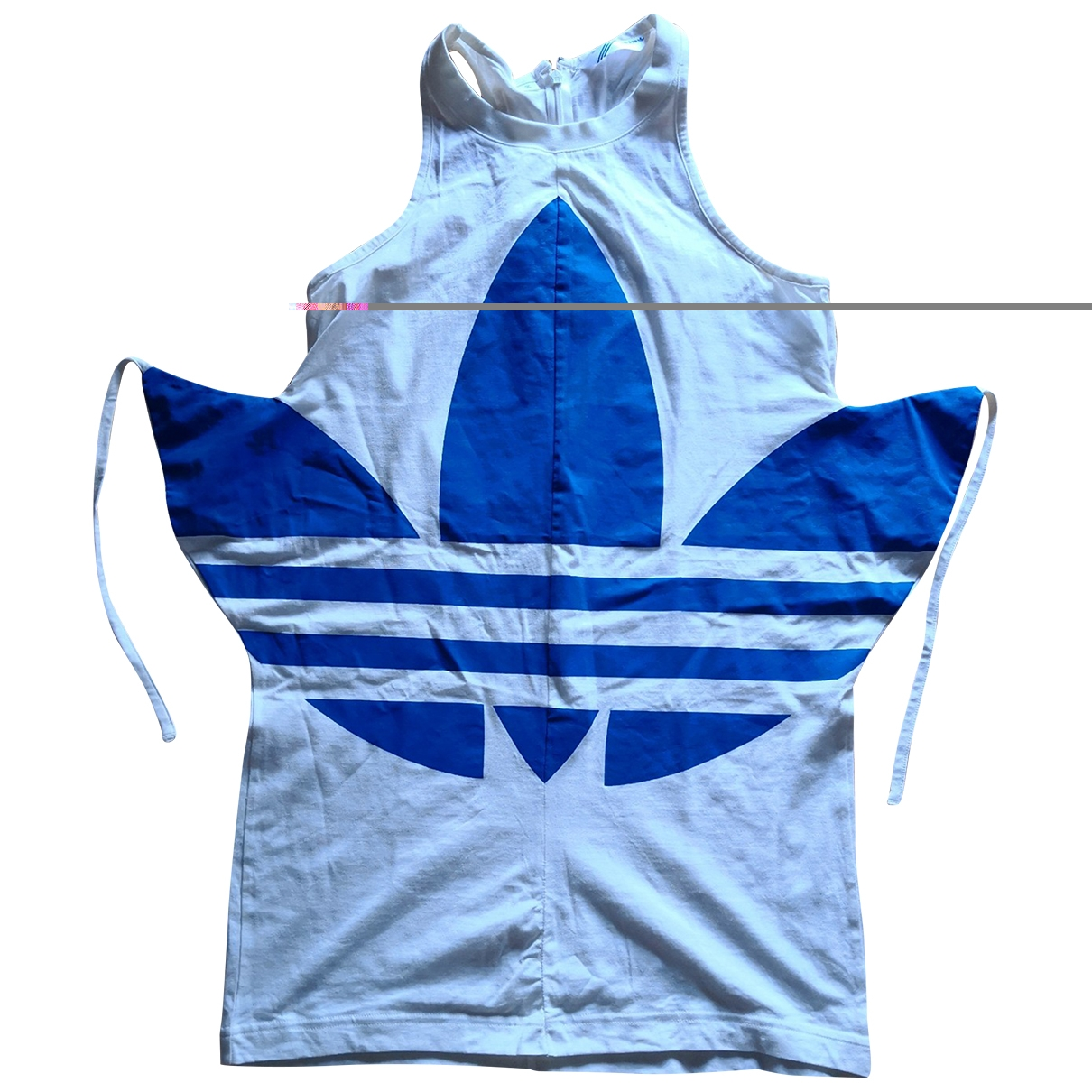 Adidas \N White Cotton  top for Women 38 FR