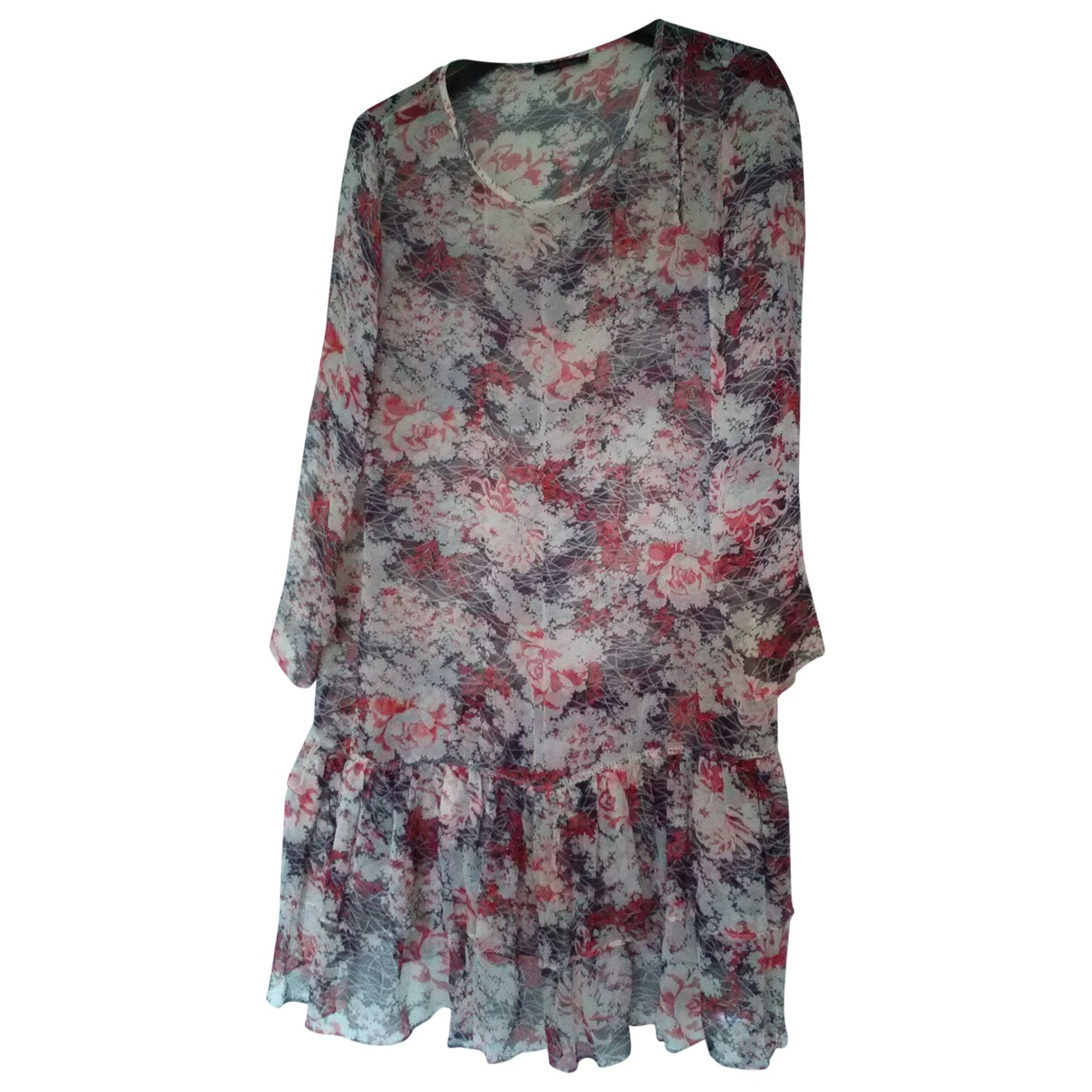 Tara Jarmon \N Multicolour Silk dress for Women 42 FR