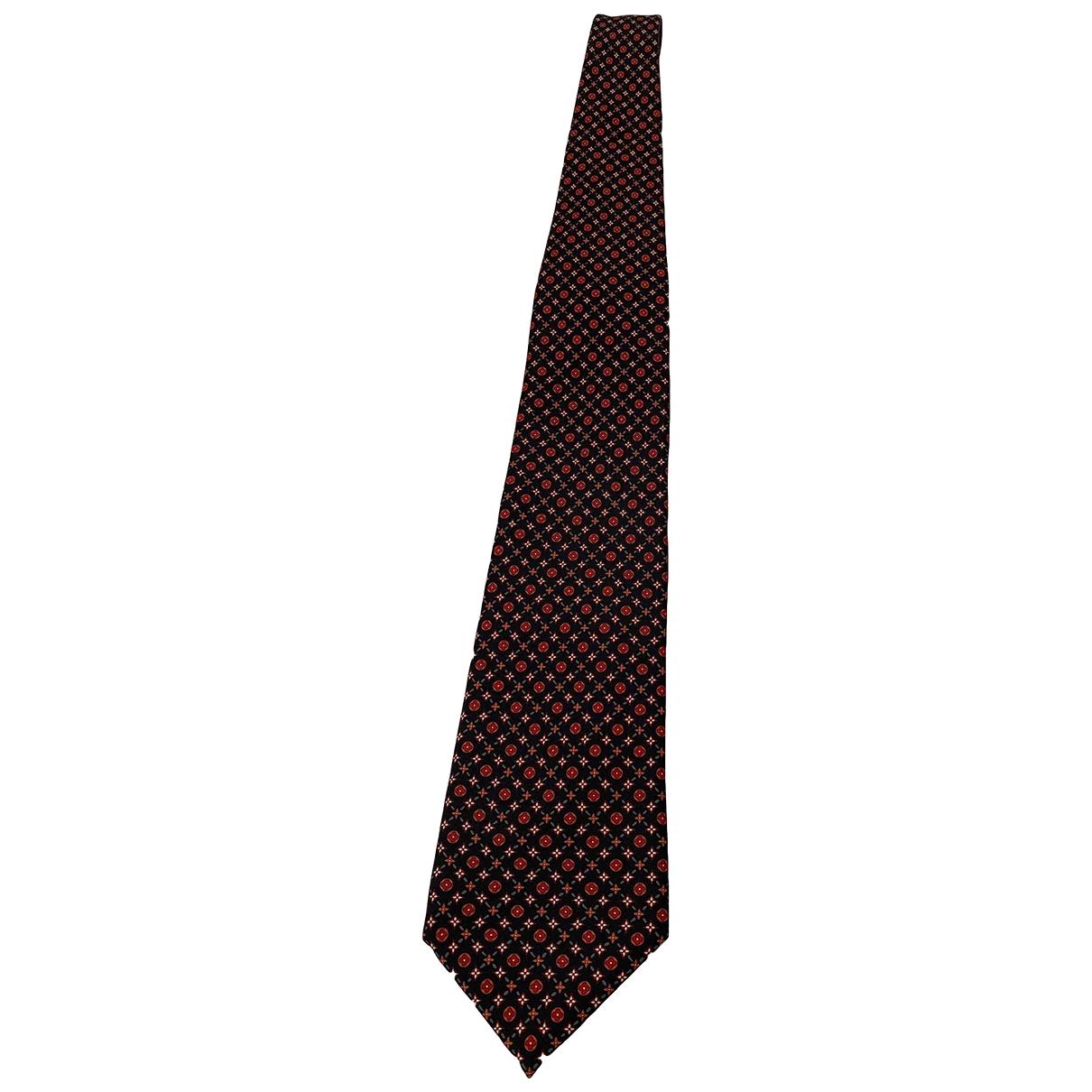 Louis Vuitton \N Krawatten in  Schwarz Seide