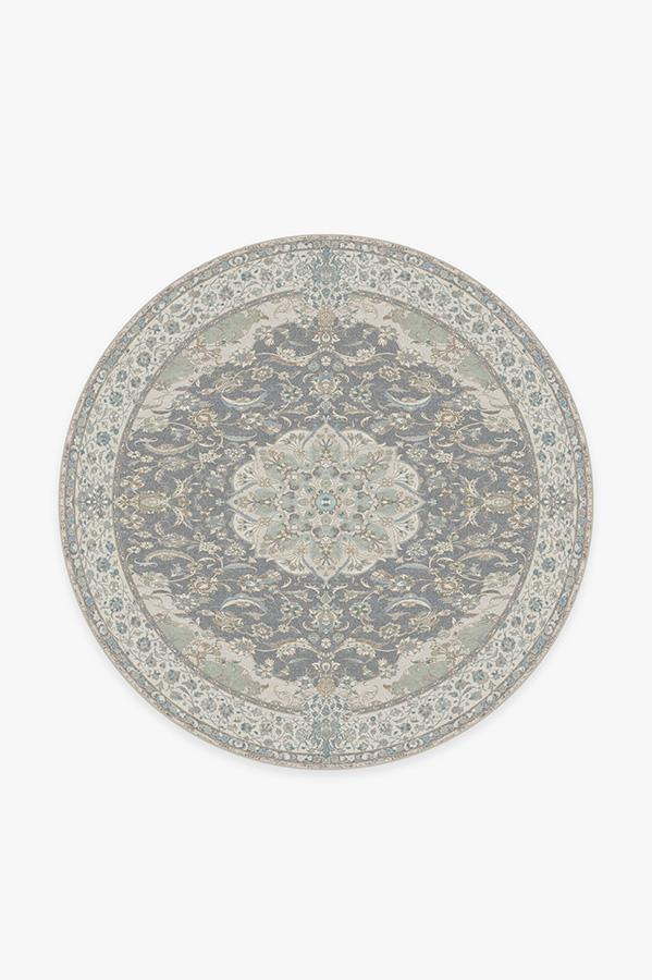 Washable Rug Cover & Pad | Sima Abalone Rug | Stain-Resistant | Ruggable | 6' Round