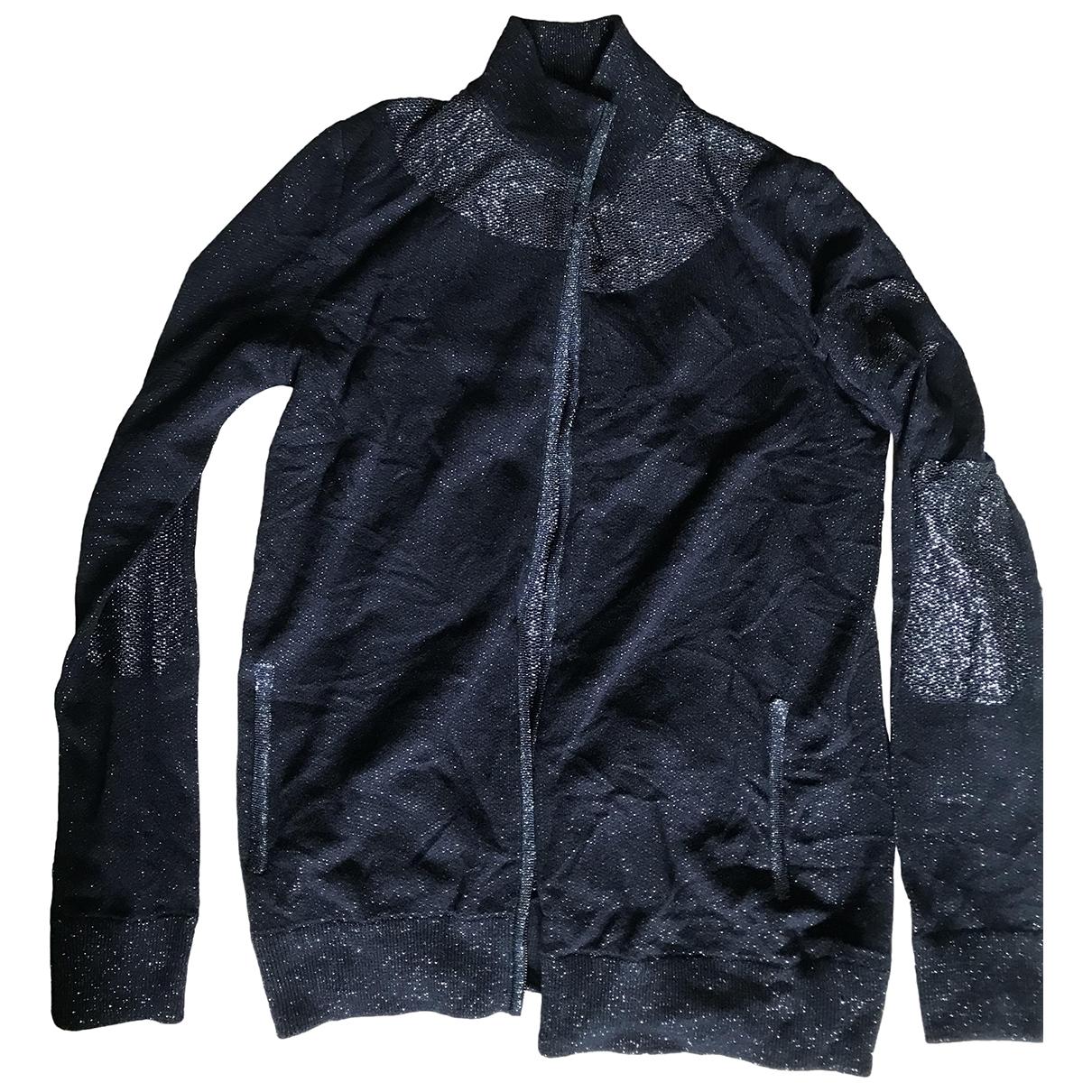 Chanel \N Blue Cotton Knitwear for Women 40 FR