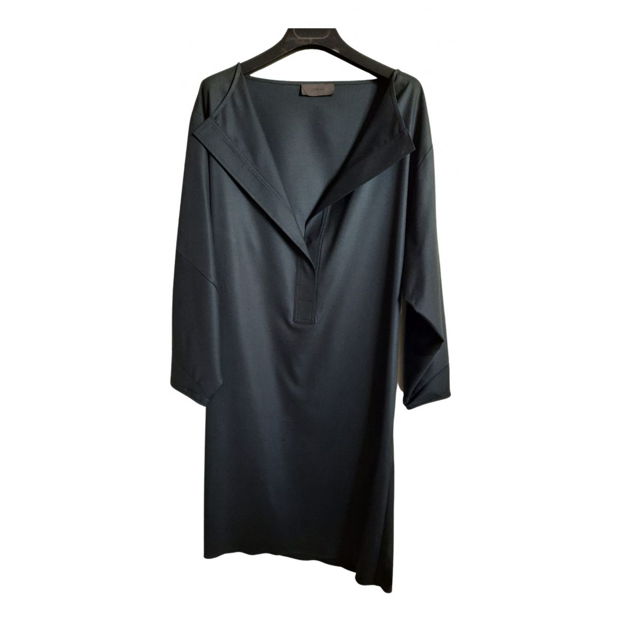 Non Signé / Unsigned N Black Wool dress for Women 40 IT