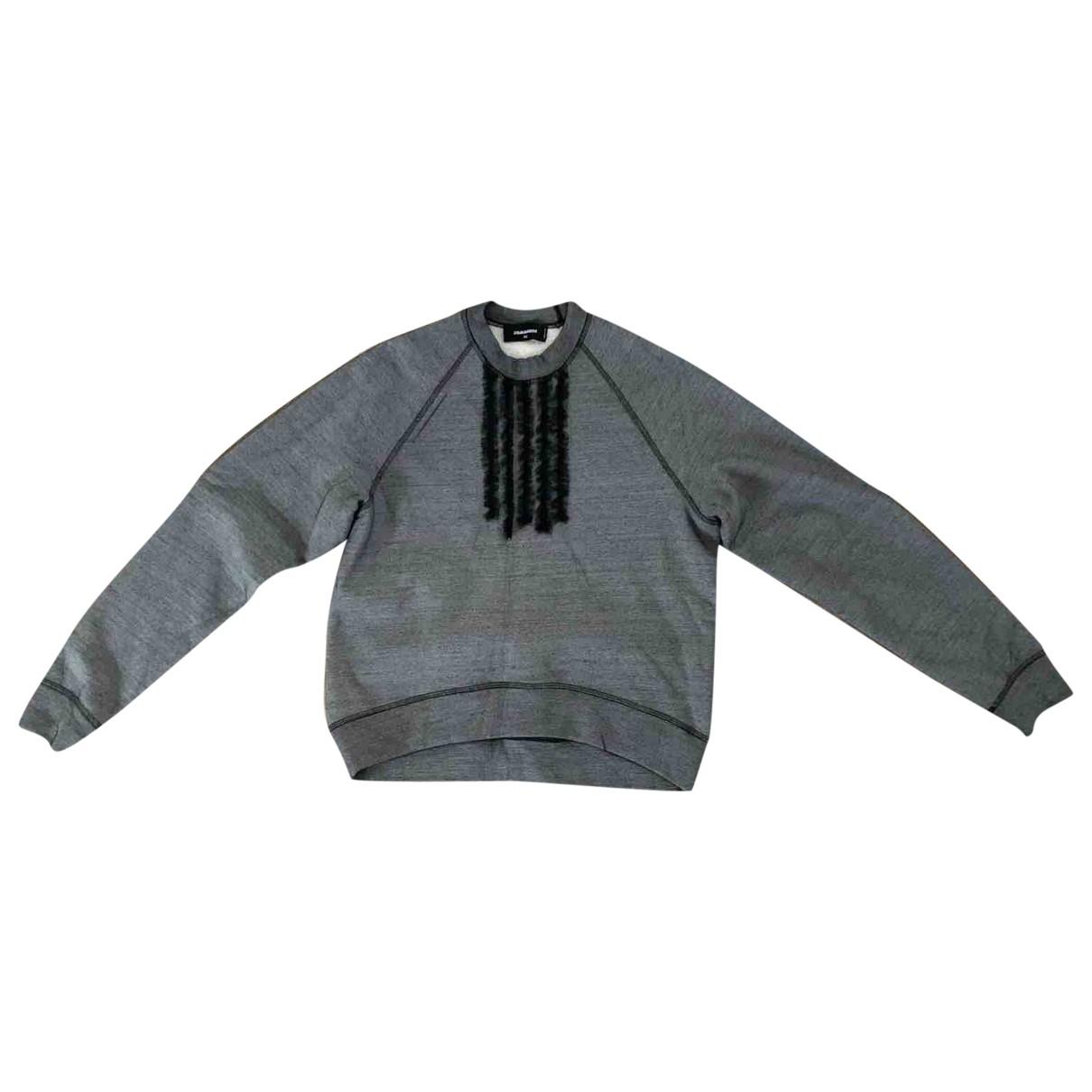 Dsquared2 \N Grey Cotton Knitwear for Women XS International