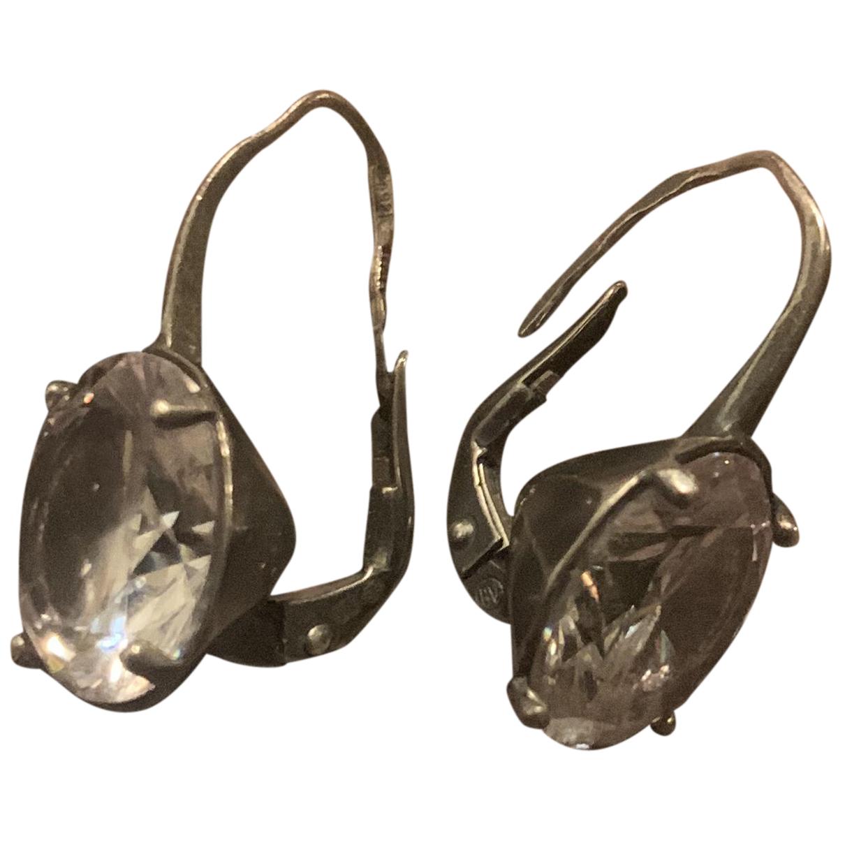 Bottega Veneta N Silver Silver Earrings for Women N
