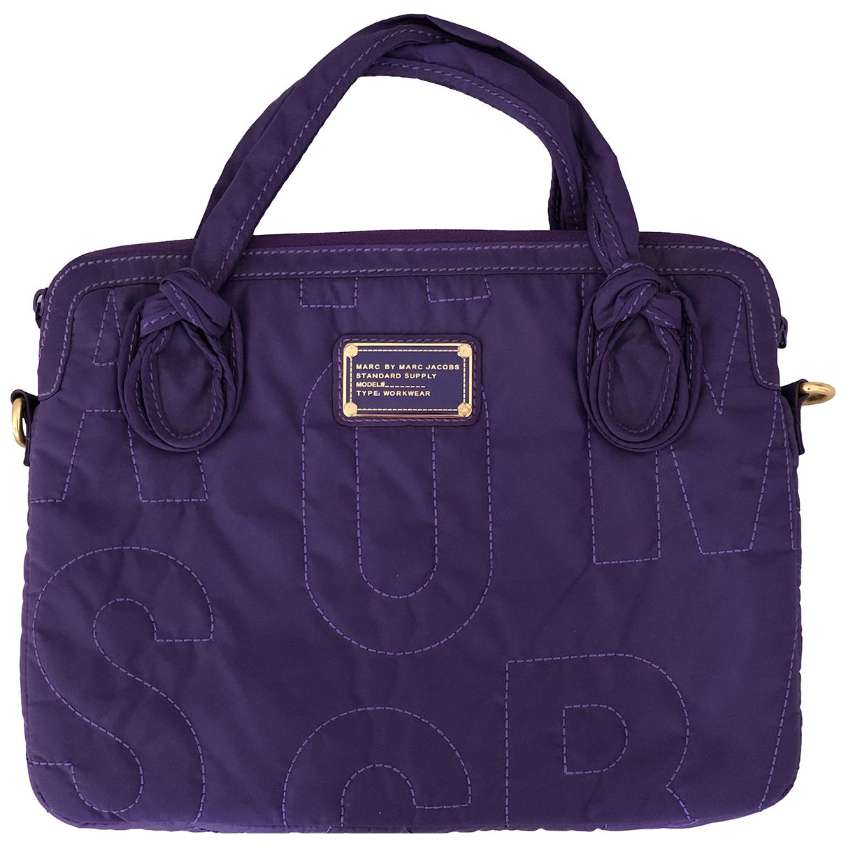 Marc By Marc Jacobs \N Purple Cotton Travel bag for Women \N