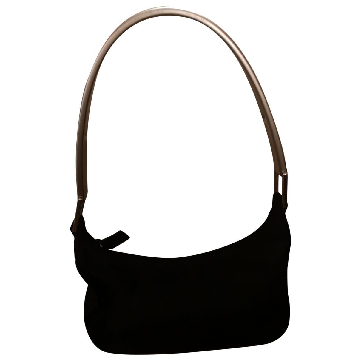 Prada Tessuto  Handtasche in  Schwarz Polyester