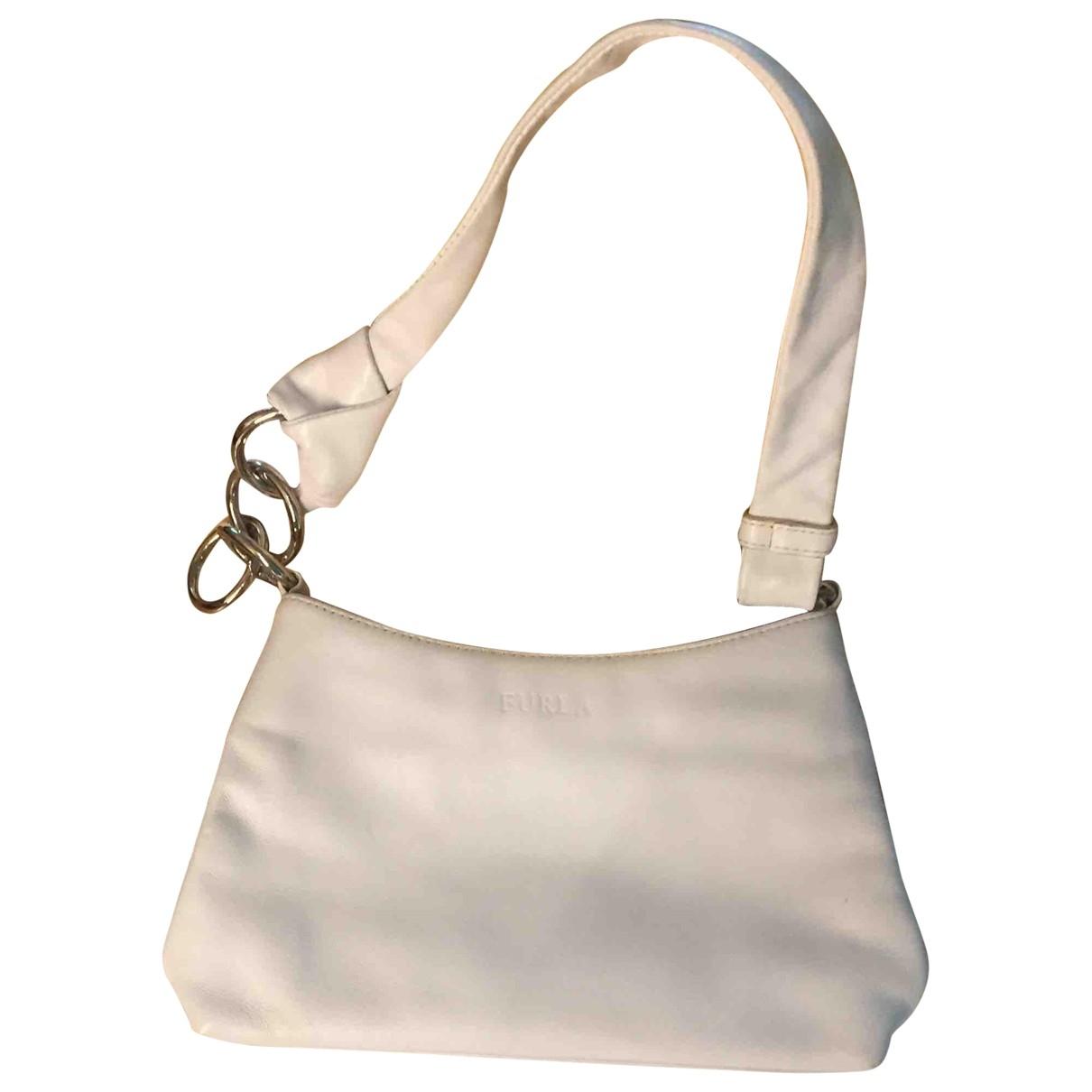 Furla - Sac a main   pour femme en cuir - blanc