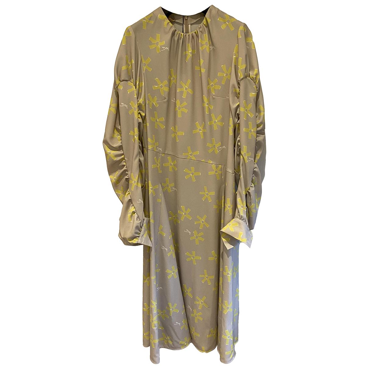 Drome \N Kleid in  Gelb Polyester
