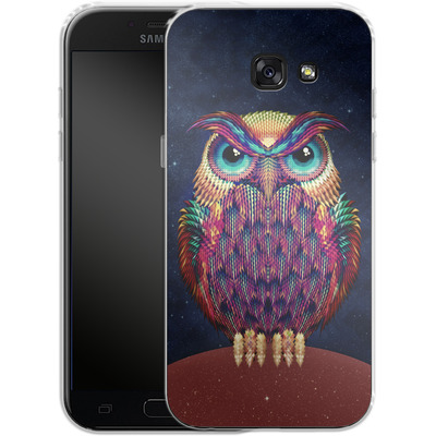 Samsung Galaxy A5 (2017) Silikon Handyhuelle - Owl von Ali Gulec