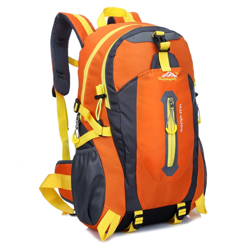 Ericdress Unisex Pure Color Oxford Mountaining Backpack