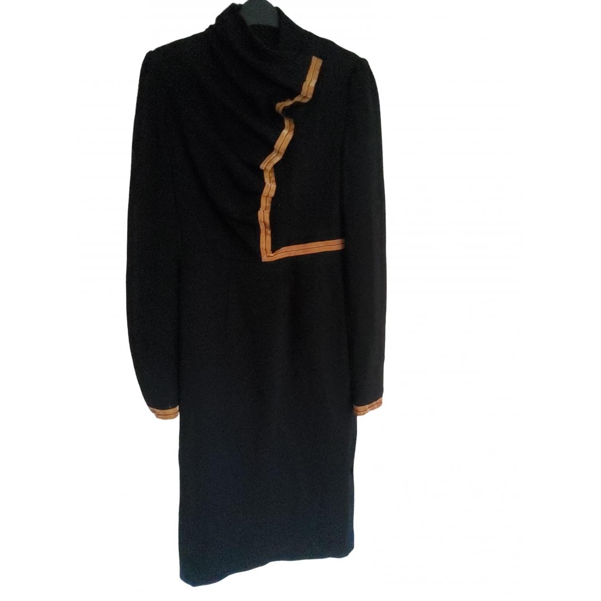 Nathan Jenden \N Kleid in  Schwarz Wolle