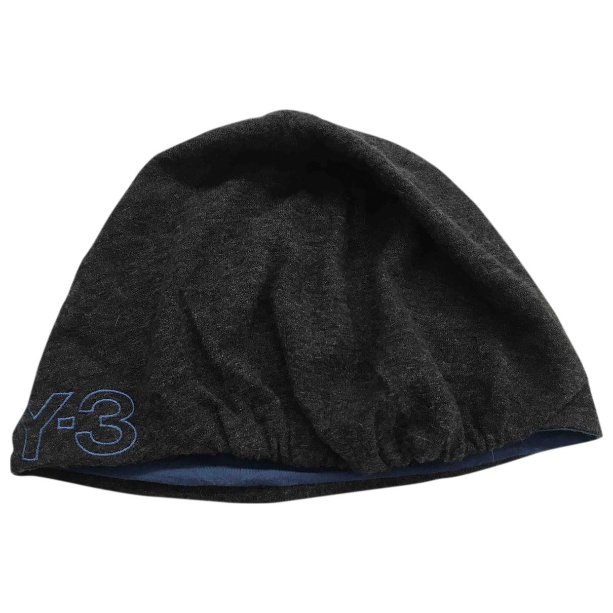 Y-3 - Chapeau & Bonnets   pour homme en coton - gris