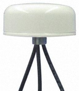 Mobilemark SMD-W-3C3C3C-WHT-180  - Dome WiFi (Dual Band)  Antenna, Through Hole/Bolted Mount, (2.4 GHz) SMA Connector