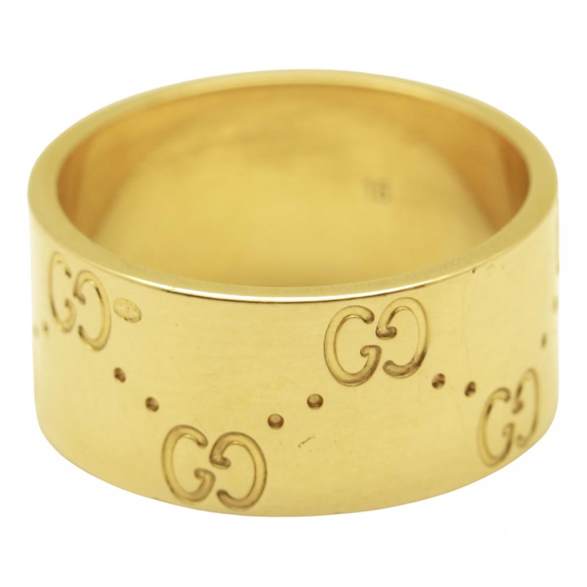 Gucci - Bague Icon pour femme en or jaune - dore
