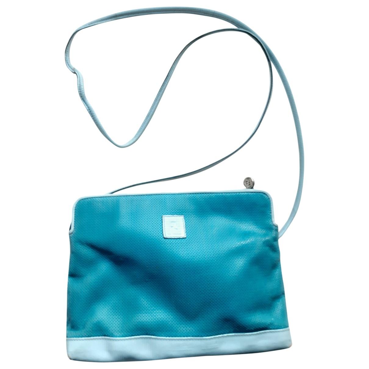Fendi \N Turquoise Cloth handbag for Women \N