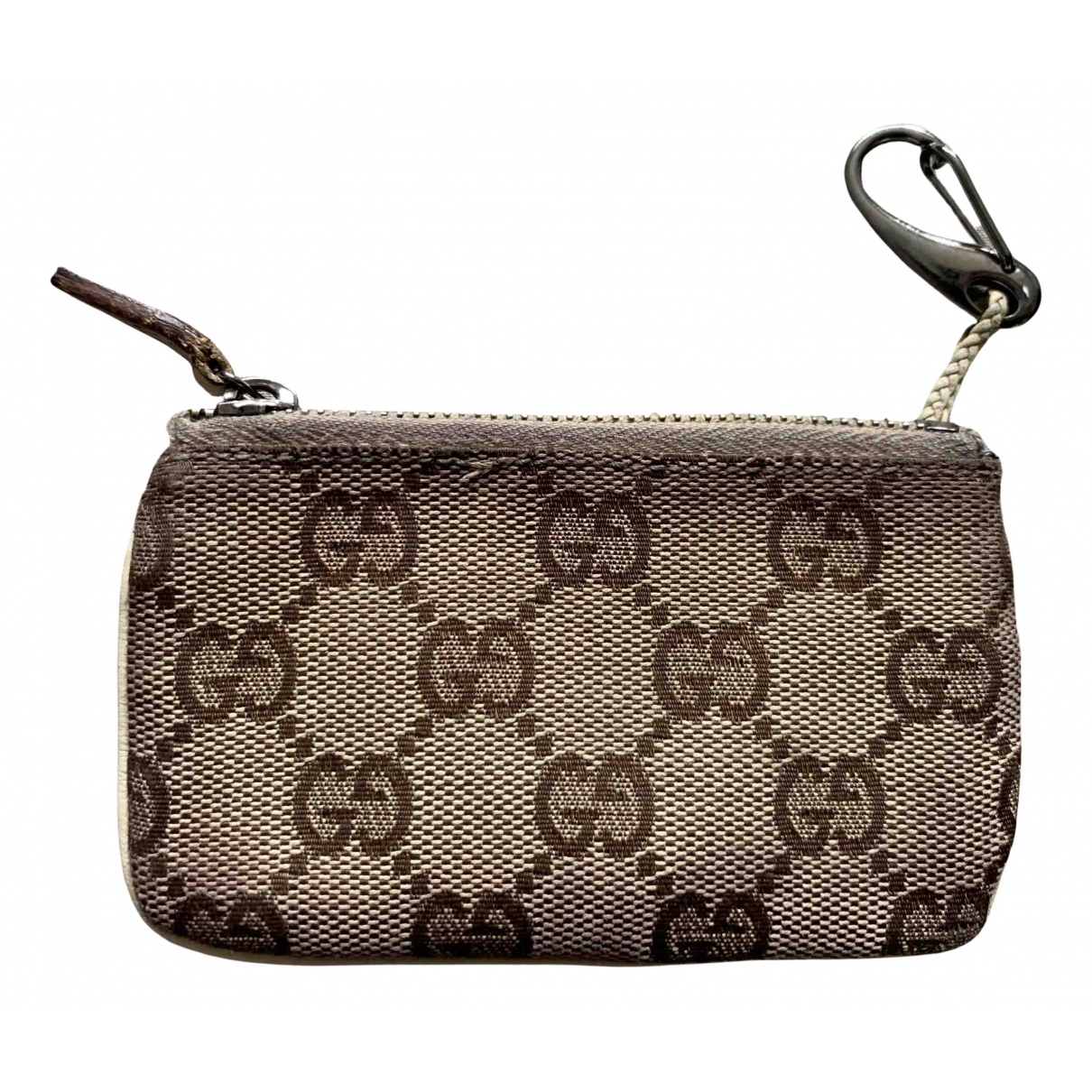 Gucci N Beige Cloth Purses, wallet & cases for Women N