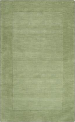 Mystique M-310 6' x 9' Rectangle Modern Rug in Grass Green  Dark