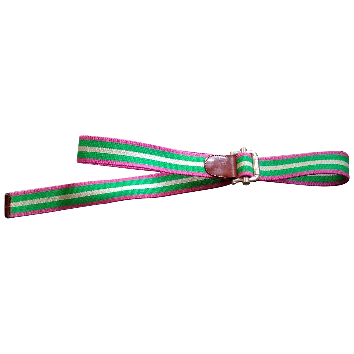 Non Signé / Unsigned \N Multicolour Cloth belt for Women L International