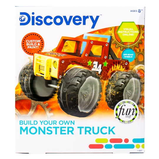 Discovery™ Build Your Own Monster Truck By Discovery Kids | Michaels®