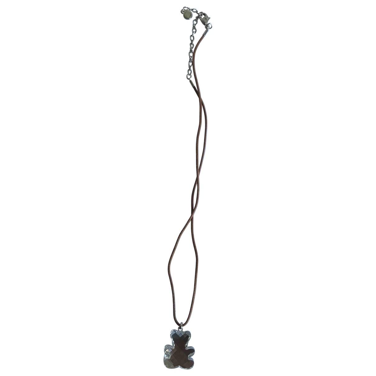 Swarovski - Collier   pour femme en acier - metallise