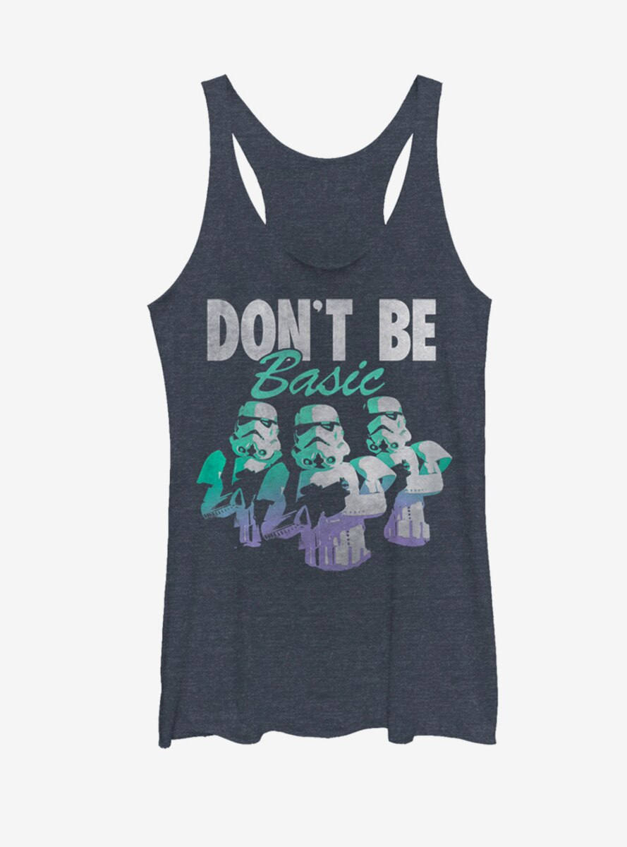Star Wars Stormtroopers Don't Be Basic Womens Tank