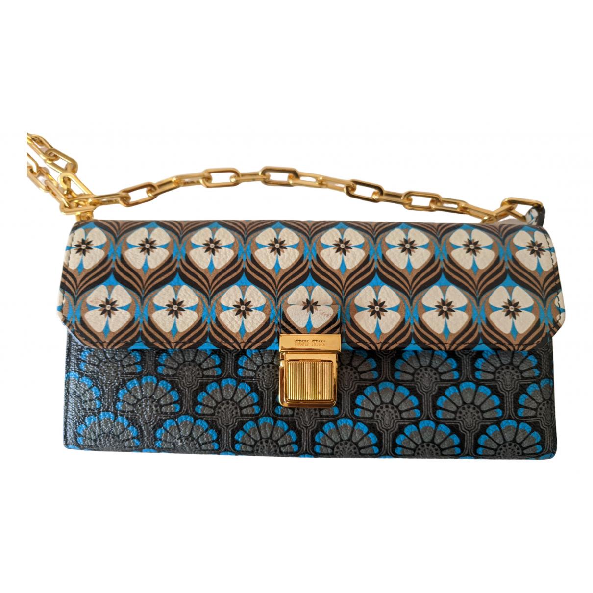 Miu Miu \N Leather Clutch bag for Women \N