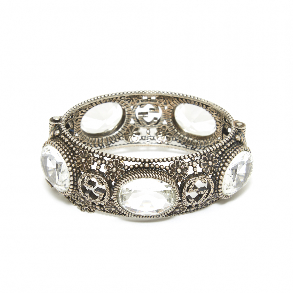 Gucci Icon Armband in  Silber Metall