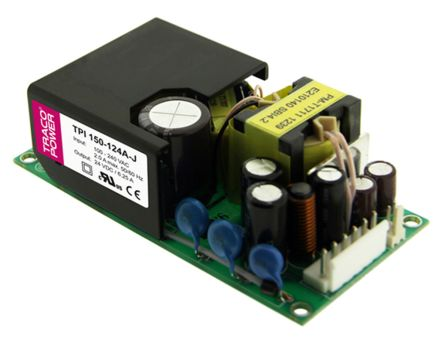 TRACOPOWER , 150W Embedded Switch Mode Power Supply SMPS, 48V dc, Open Frame