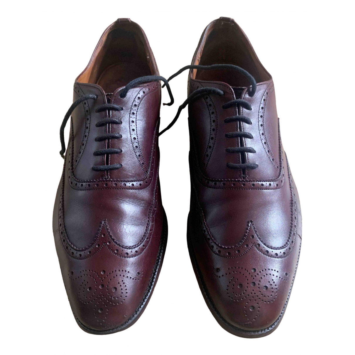 Church's \N Brown Leather Lace ups for Men 11 UK