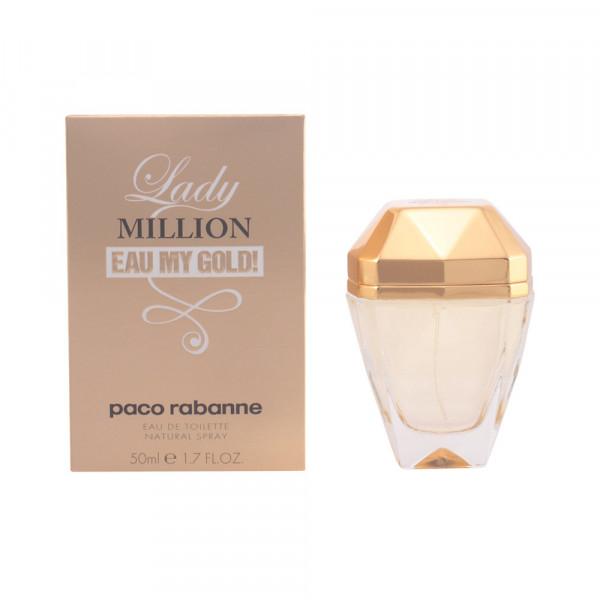 Paco Rabanne - Lady Million Eau My Gold : Eau de Toilette Spray 1.7 Oz / 50 ml