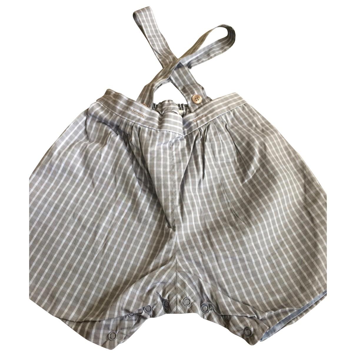Bonpoint \N Shorts in  Blau Baumwolle