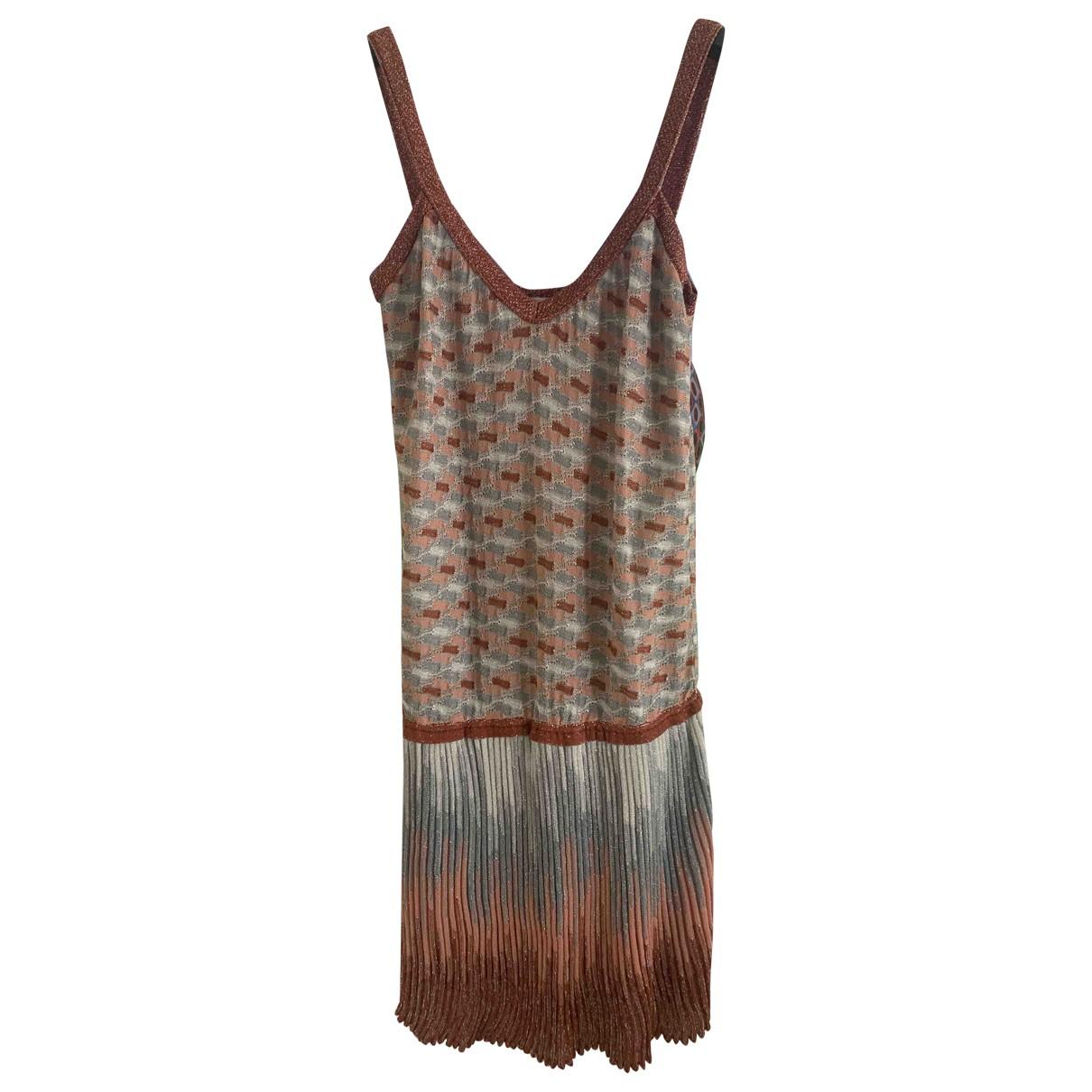M Missoni - Robe   pour femme - argente