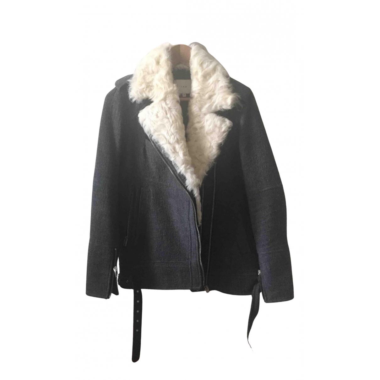 Iro - Veste   pour femme en laine - anthracite