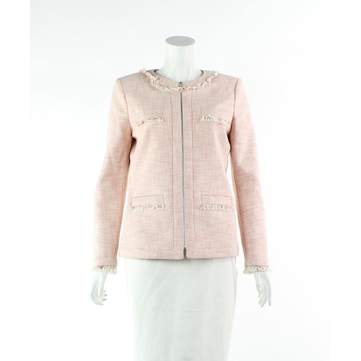 Claudie Pierlot - Veste   pour femme en coton - rose