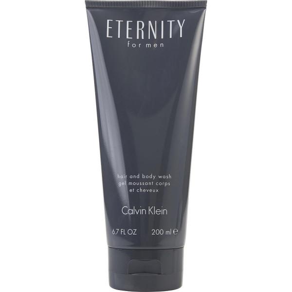 Eternity Pour Homme - Calvin Klein Gel espumoso para cuerpo y cabello 200 ml