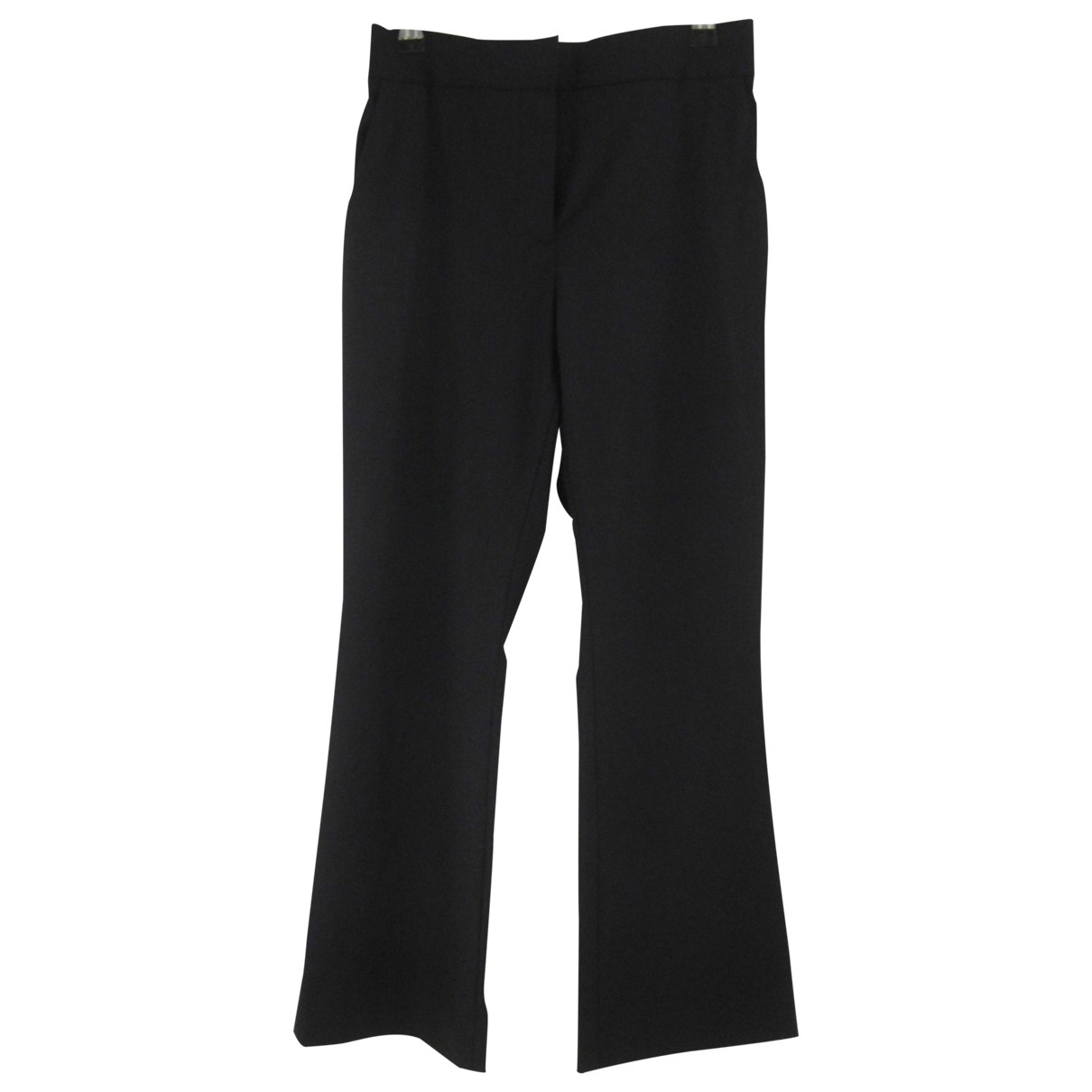 Cos \N Black Wool Trousers for Women XS International
