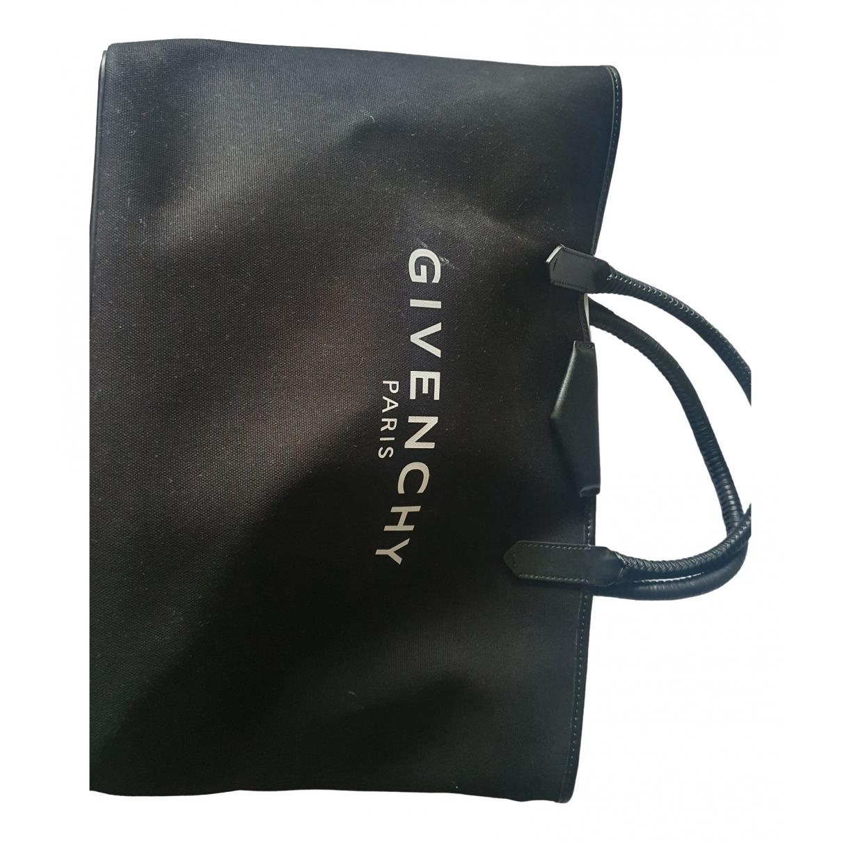 Givenchy - Sac a main   pour femme en toile - noir
