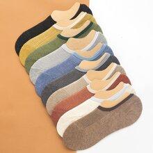10pairs Multicolor Boat Socks