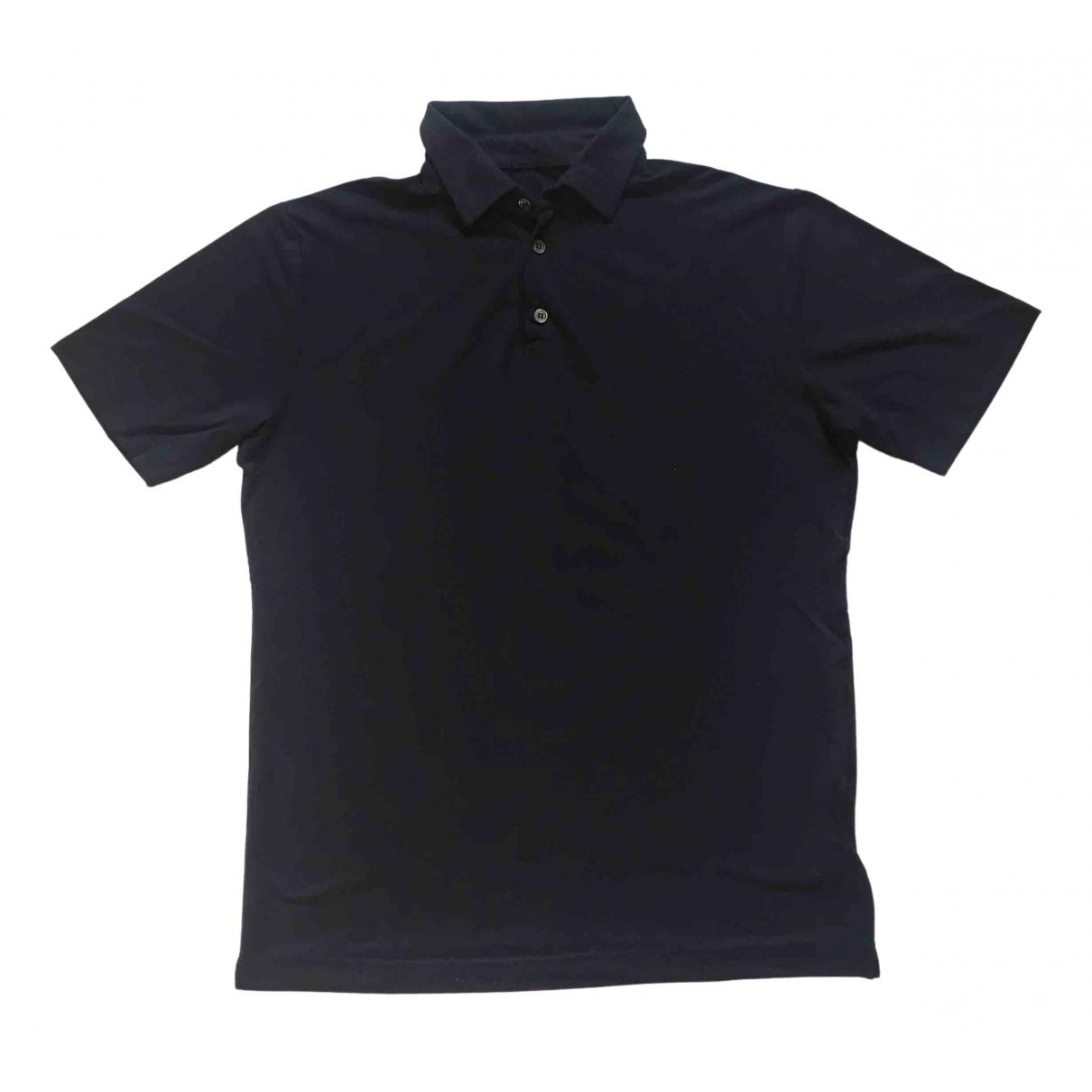 Zanone - Polos   pour homme en coton - bleu